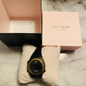 Kate spade silicone watch